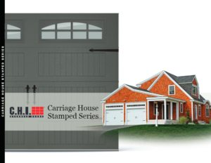 STAMPED CARRIAGE HOUSE | George and Sons Garage Doors