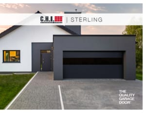 Sterling With Infinity Glass George And Sons Garage Doors