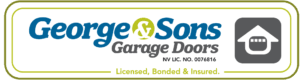 George and Sons Garage Doors Logo